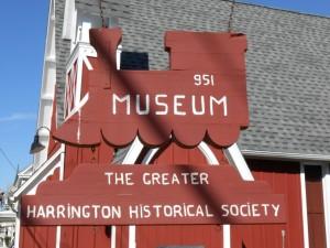 Harrington - Museum Sign
