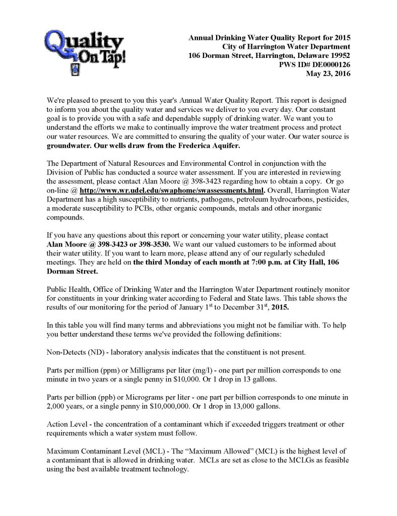 Water Quality Report for 2015_Page_1