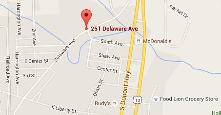 251 Delaware Map